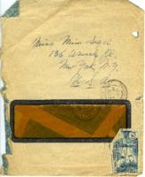 Envelope addressed to Miriam 'Mim' Sigel