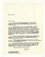 Rosalind Irvine to Charles Burchfield, July 8, 1955