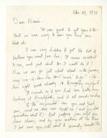 Charles Burchfield to Rosalind Irvine, dated Apr. 24, 1955