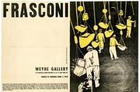 Antonio Frasconi, Weyhe Gallery 794 Lexington Avenue, NY, March 14 through April 7, 1953