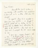 Charles Burchfield to Rosalind Irvine, Sept. 15, 1955