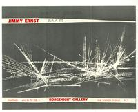 Jimmy Ernst Paintings, January 24 to February 11, Borgenicht Gallery, 1018 Madison Avenue, NY