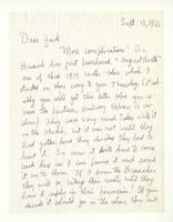 Charles Burchfield to John Baur, Sept. 18, 1955