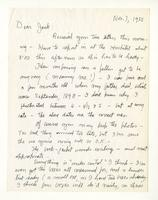 Charles Burchfield to John Baur, Nov. 7, 1955