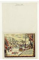 """Christmas Afternoon""  Charles Burchfield Christmas card"