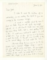 Charles Burchfield to John Baur, June 13, 1955