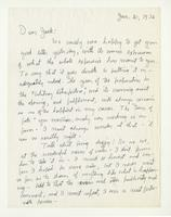 Charles Burchfield to John Baur, Jan. 21, 1956