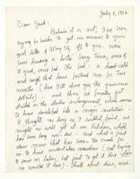 Charles Burchfield to John Baur, July 8, 1956