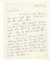 Charles Burchfield to Rosalind Irvine, Sept. 13, 1955