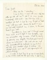 Charles Burchfield to John Baur, Oct. 20, 1955