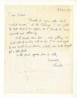 Charles Burchfield to Rosalind Irvine, Oct. 25, 1955