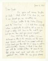 Charles Burchfield to John Baur, June 8, 1955