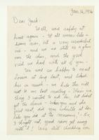 Charles Burchfield to John Baur, Jan. 16, 1956
