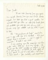Charles Burchfield to John Baur, Sept. 15, 1955