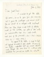 Charles Burchfield to Jack Baur, Jan. 11, 1955