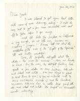 Charles Burchfield to John Baur, Jan. 28, 1956