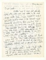 Charles Burchfield to John Baur, May 26, 1956