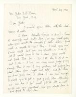 Charles Burchfield to John Baur, Apr. 24, 1955
