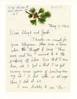 Dear Lloyd and Jack, May 5, 1963
