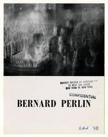 BERNARD PERLIN EXHIBITION of PAINTINGS from MAY 5 to 31, 1958