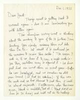 Charles Burchfield to John Baur, Dec. 1, 1955