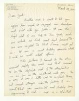 Charles Burchfield to John Baur, March 23, 1957