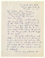 Hobson Pittman to Mrs. Force, December 29 -1943