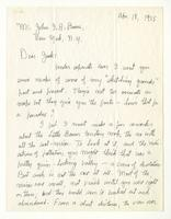 Charles Burchfield to John Baur, Apr. 18, 1955