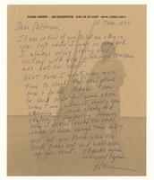 Duane Hanson to Patterson, 11 June, 1984