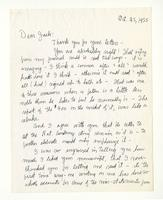 Charles Burchfield to John Baur, Oct. 25, 1955