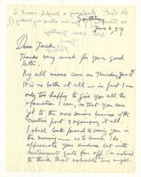 Philip Evergood to Jack, June 6, 1959