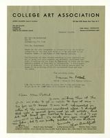 Frances M. Pollak to Mr. Charles Burchfield,  December 18, 1934