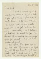Charles Burchfield to John Baur, Nov. 30, 1955