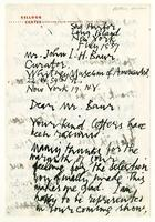 Abraham Ratner to Mr. John I. H.  Baur, July 15 '57