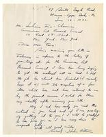 Hobson Pittman to Mrs. Force, June 14 -1943