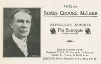 Vote for James Crooke McLeer