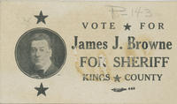 Browne for Kings County sheriff