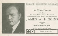 Higgins for state senator