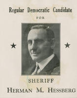 Hessberg for sheriff
