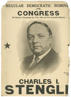 Poster endorsing Charles I. Stengle