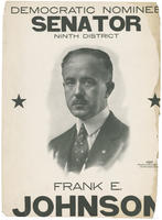 Poster endorsing Frank E. Johnson