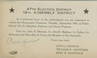 47th election district postcard