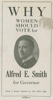 12 reasons why women should vote for Alfred E. Smith for governor