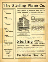 The Sterling Piano Co. [advertisement]