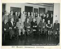 Bronx Board Of Trade Membership Council, 1952