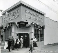 Grand Opening of Manufacturers Trust Company's New Branch