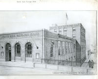 Plan For new North Side Savings Bank