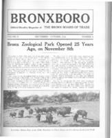 Bronx Zoological Park Opened 25 Years Ago, On November 8th