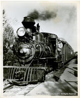 Freedomland's Popular Santa Fe Railroad Ride