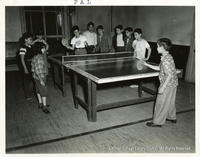 Ping Pong At The  PAL Youth Center